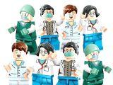 LEGOpower -  Uyumlu Doktorlar Minifigür Seti