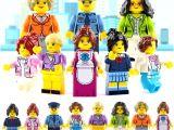 LEGOpower - Uyumlu İş Kadınları Minifigür Seti