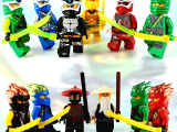 LEGOpower - Uyumlu Ninjago Minifigür 4 Seti