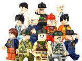 LEGOpower - Uyumlu Gençler 2 Minifigür Seti