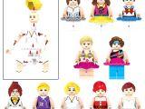 LEGO Uyumlu kız figür karakterler