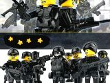 Özel kuvvetler 8'li LEGO Uyumlu