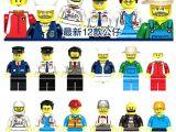 Meslek Adamları 2 LEGO figürleri. . 12 figür