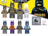 LEGO Uyumlu Batman Minifigür Seti