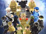 LEGOpower -  Asker LEGO Uyumlu Serisi Özel Figürler