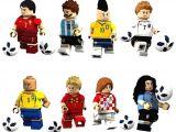 LEGOpower Uyumlu Futbol Starları Minifigür Seti