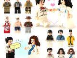 LEGOpower -  Uyumlu Damat Gelin Minifigür Seti