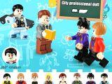 LEGO Uyumlu Kolejli Gençler Minifigür Seti