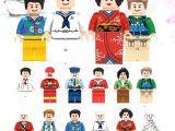 LEGOpower -  Uyumlu Meslekler 3 Minifigür Seti